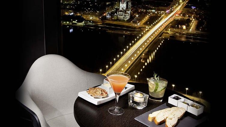 57 Restaurant & Lounge Aussicht und Kulinarik